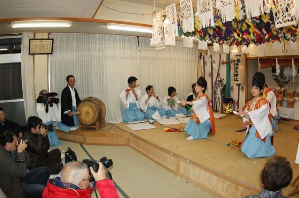 八幡の舞(2010年(平成22年)1月16日撮影)の写真5