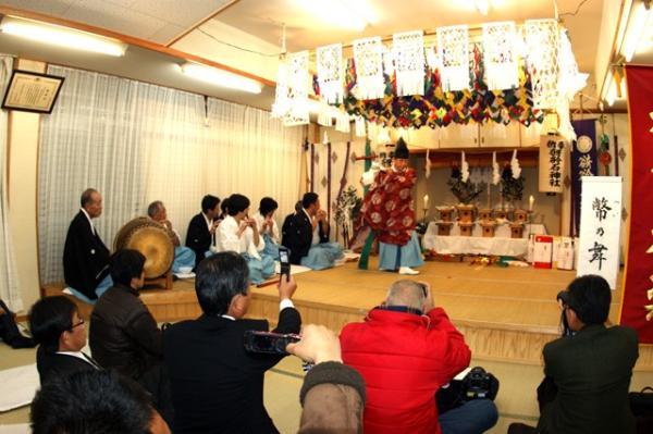 幣の舞(2010年(平成22年)1月16日撮影)