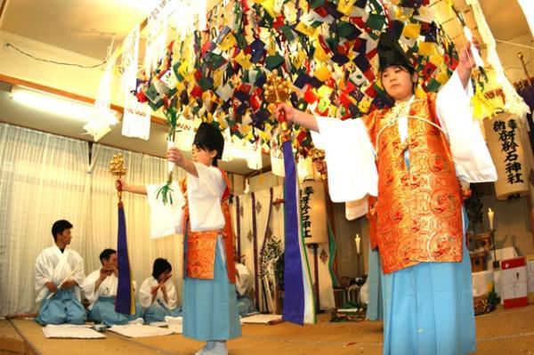 八幡の舞(2010年(平成22年)1月16日撮影)の写真2
