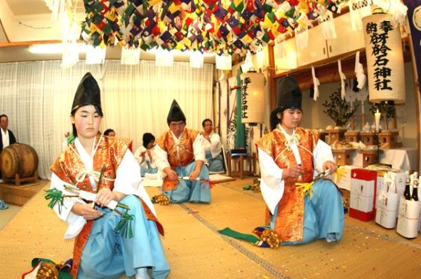 八幡の舞(2010年(平成22年)1月16日撮影)の写真3