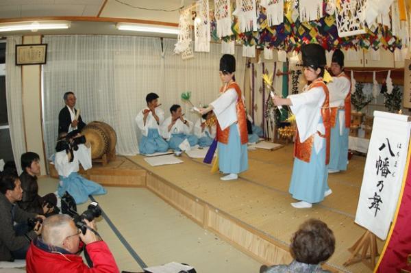 八幡の舞(2010年(平成22年)1月16日撮影)の写真4