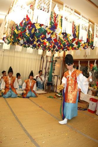八幡の舞(2010年(平成22年)1月16日撮影)の写真6